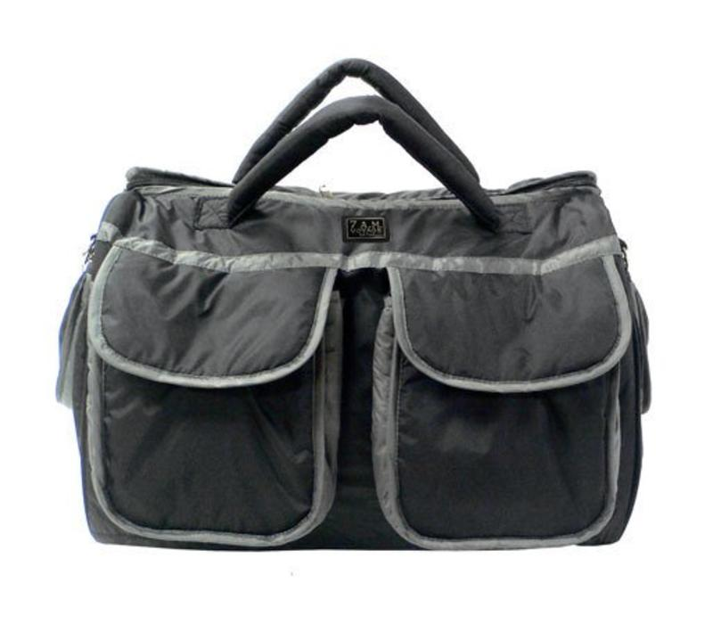 FINAL SALE 7 A.M. Enfant Large Voyage Bag In Black