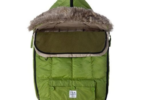 7 AM 7 A.M. Enfant Le Sac Igloo Baby Bunting Medium In Kiwi