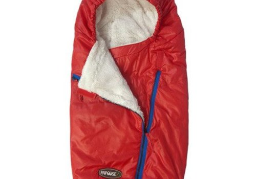 7 AM FINAL SALE!! 7 A.M. Enfant Papoose Medium-Large Lightweight Footmuff In Red
