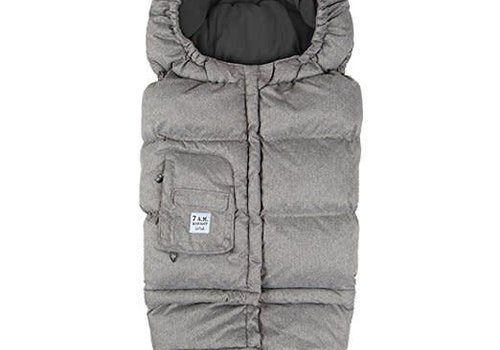 7 AM 7 A.M. Enfant Evolution Blanket In Heather Grey