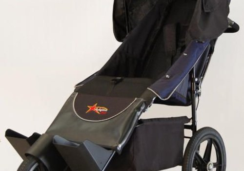 Adaptive Star Adaptive Star Axiom Endeavour 3 Indoor and Outdoor Mobility Push Chair In Navy