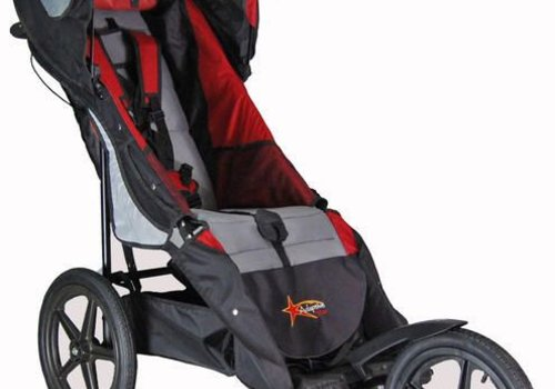 Adaptive Star Adaptive Star Axiom Improv Size 3 Special Needs Jogger In Red