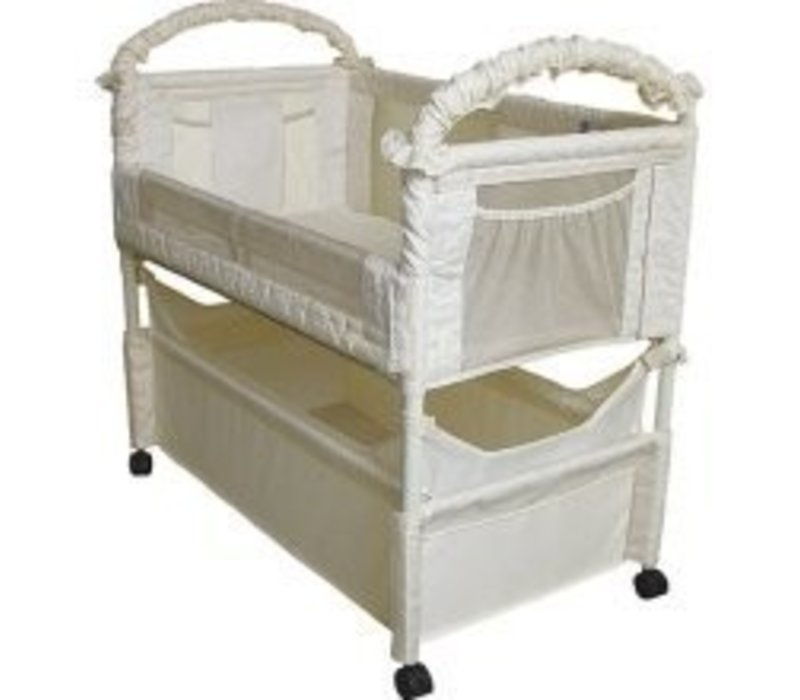 Arm's Reach Clear Vue Co-Sleeper In Natural
