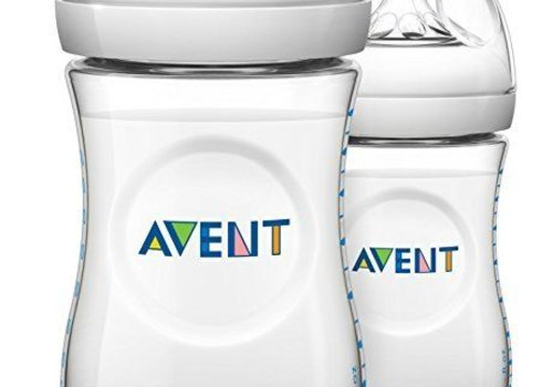 Avent Philips Avent Natural 9 Ounce BPA Free Bottle, 3 Pack In Clear