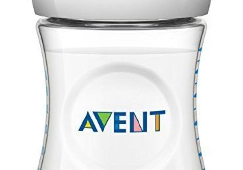 Avent Philips Avent Natural 11 Ounce BPA Free Bottle, 3 Pack In Clear