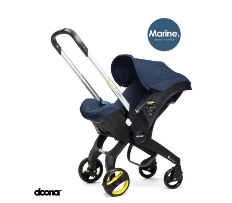 Doona Infant Car Seat - Stroller With Infant Car Seat Base Navy-Marine