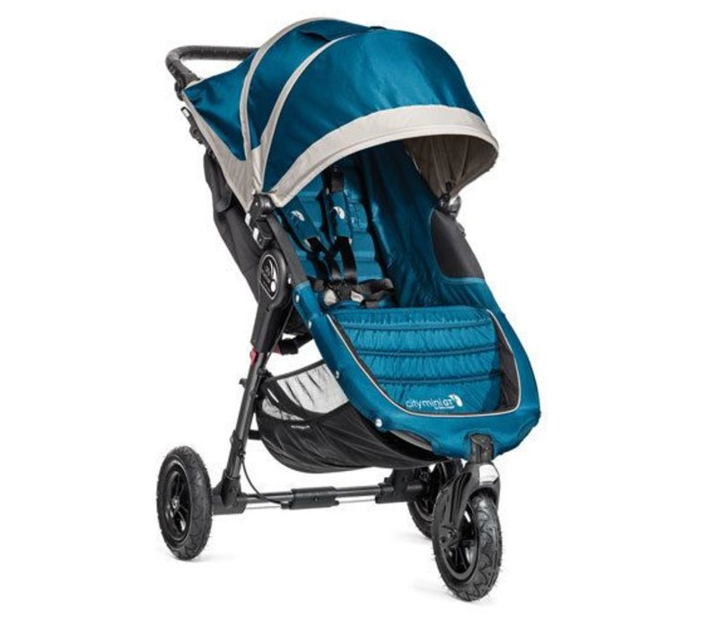 2018 Baby Jogger City Mini GT Single In Teal - Gray