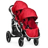 Baby Jogger 2018 Baby Jogger City Select With Second Seat In Ruby With Silver Frame