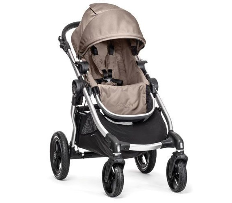2017 Baby Jogger City Select Single In Quartz With Silver Frame