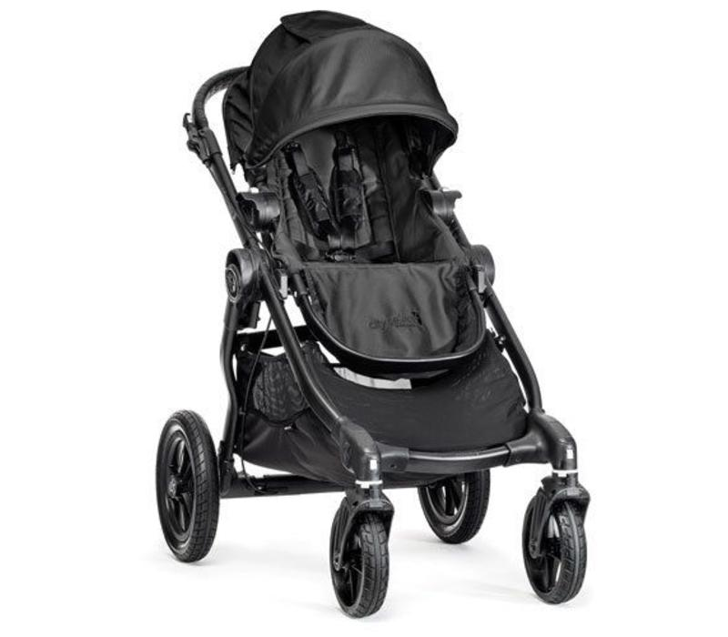 2017 Baby Jogger City Select Single In Black With Black Frame