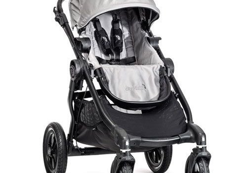 Baby Jogger 2018 Baby Jogger City Select Single In Silver With Black Frame