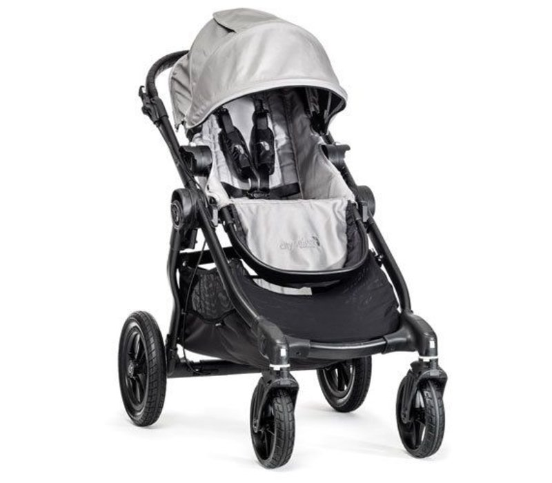 2017 Baby Jogger City Select Single In Silver With Black Frame