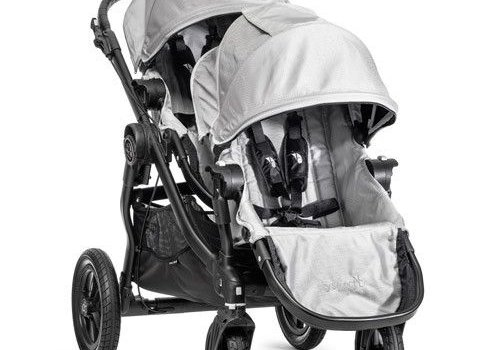 Baby Jogger 2018 Baby Jogger City Select With Second Seat In Silver With Black Frame