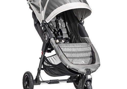 Baby Jogger 2018 Baby Jogger City Mini GT Single In Steel Gray