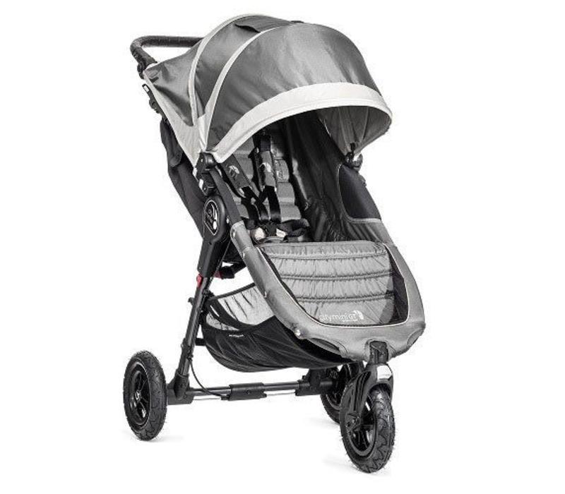 2018 Baby Jogger City Mini GT Single In Steel Gray