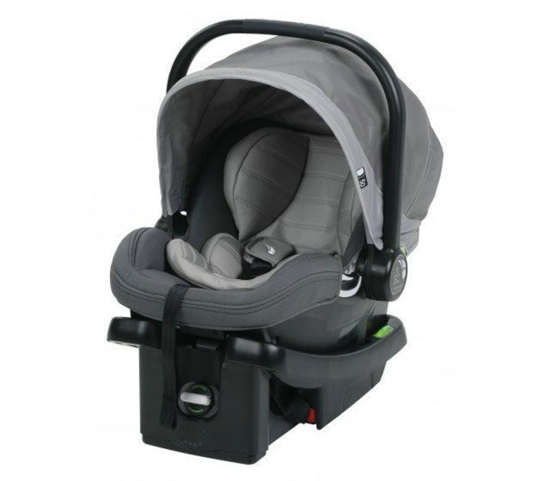 2017 Baby Jogger City Go Infant Car Seat In Steel-Gray