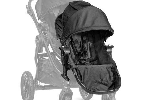 Baby Jogger 2018 Baby Jogger City Select Second Seat Kit In Black- Black Frame