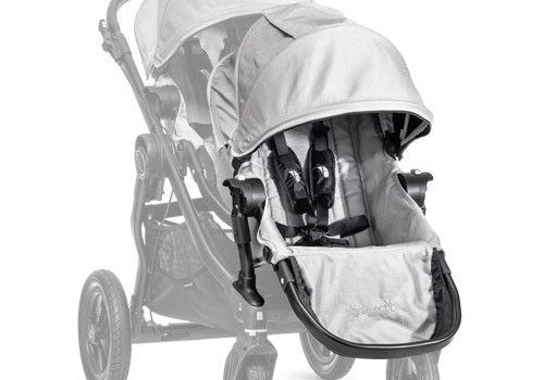 Baby Jogger 2018 Baby Jogger City Select Second Seat Kit In Silver- Black Frame