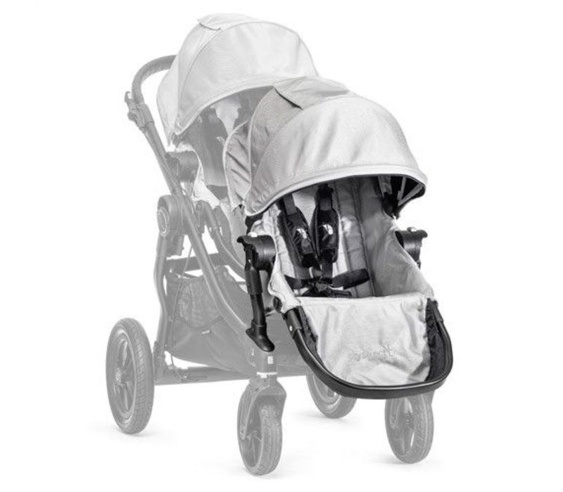 2017 Baby Jogger City Select Second Seat Kit In Silver- Black Frame