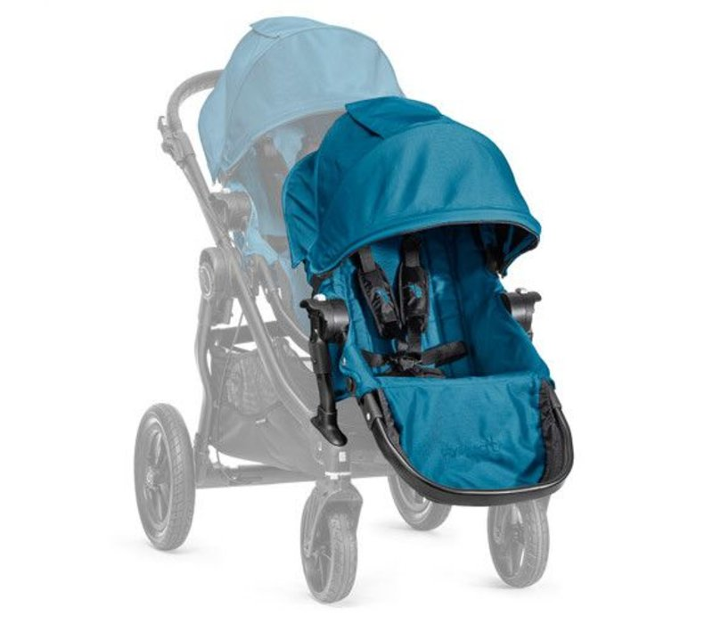 2018 Baby Jogger City Select Second Seat Kit In Teal - Black Frame