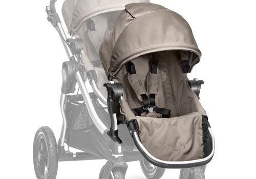 Baby Jogger 2018 Baby Jogger City Select Second Seat Kit In Quartz - Silver Frame