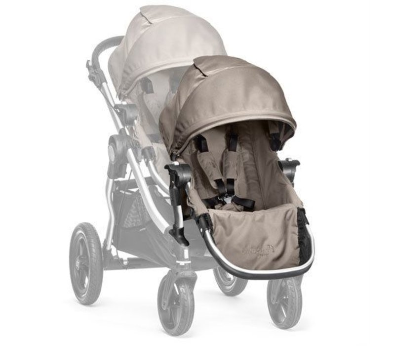 2018 Baby Jogger City Select Second Seat Kit In Quartz - Silver Frame