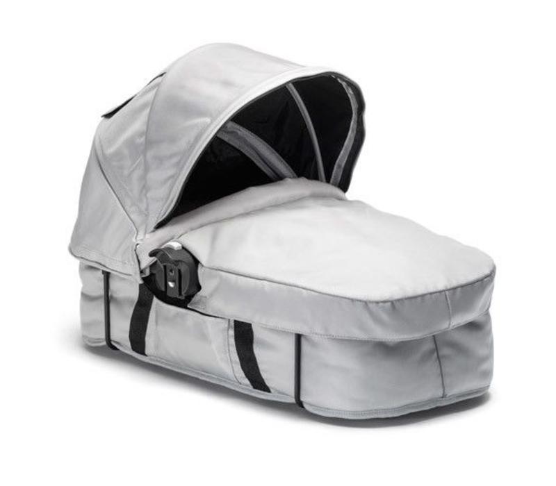 2018 Baby Jogger City Select Bassinet Kit In Silver-Black Frame