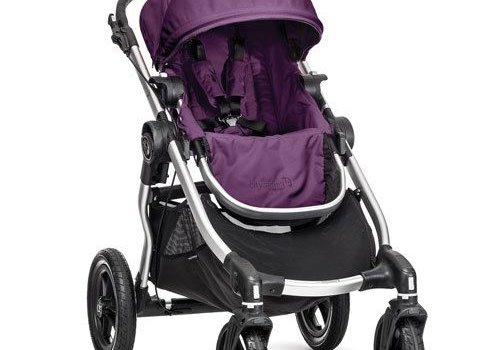 Baby Jogger 2018 Baby Jogger City Select Single In Amethyst With Silver Frame