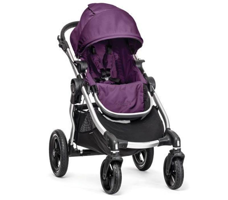 2018 Baby Jogger City Select Single In Amethyst With Silver Frame