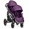 Baby Jogger 2018 Baby Jogger City Select With Second Seat In Amethyst With Silver Frame