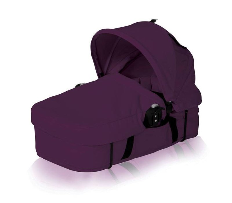 2018 Baby Jogger City Select Bassinet Kit In Amethyst - Silver frame