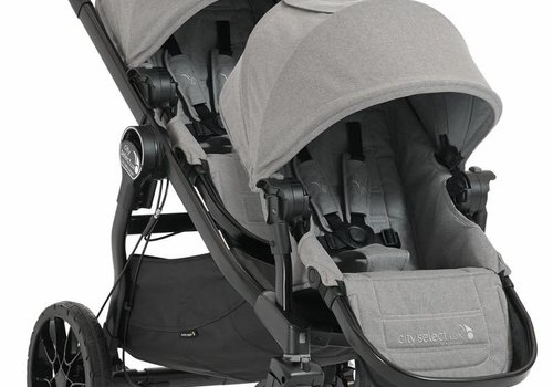 Baby Jogger Baby Jogger City Select Lux Stroller With Second Seat In Slate