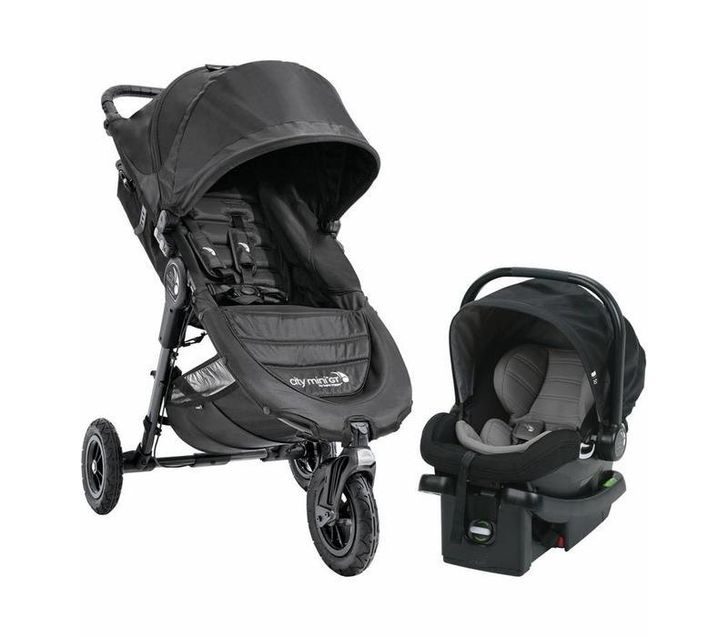2017 Baby Jogger City Mini GT Travel System In Black