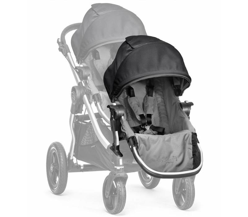 2018 Baby Jogger City Select Second Seat Kit In Gray-Black Frame