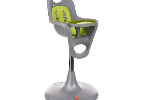 Boon Boon Flair Standard  Pedestal High Chair with Pneumatic Lift In Green