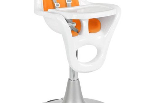 Boon Boon Flair Standard  Pedestal High Chair with Pneumatic Lift In Orange