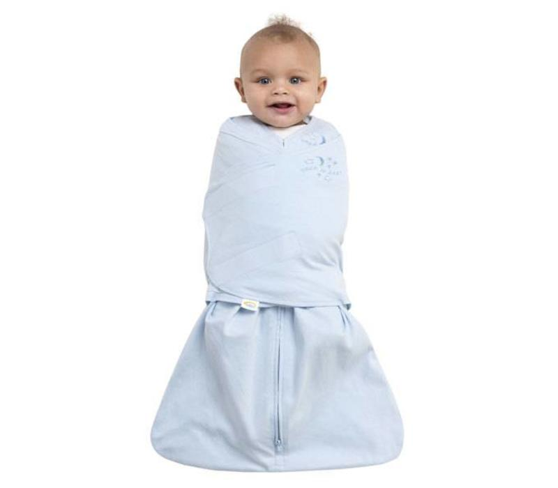 Halo Sleepsack Swaddle 100% Cotton Baby Blue In Newborn