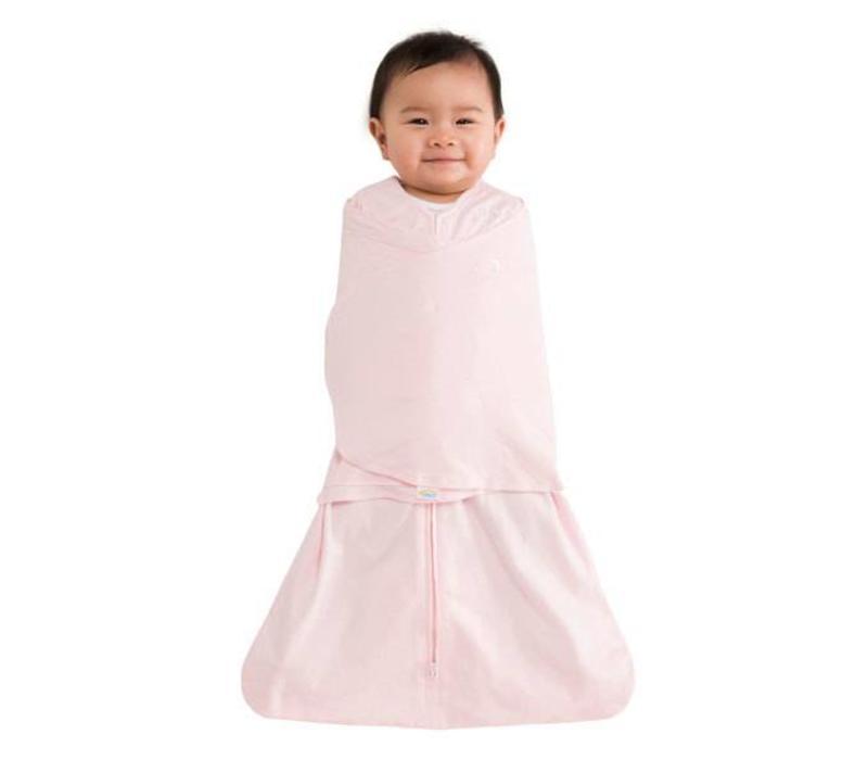 Halo Sleepsack Swaddle 100% Cotton Soft Pink In Newborn