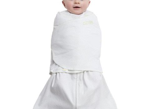 Halo Halo Sleepsack Swaddle 100% Cotton Sage Pin Dot In Newborn