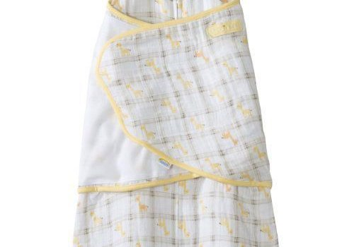 Halo Halo SleepSack Swaddle Cotton Muslin Giraffe Plaid In Newborn