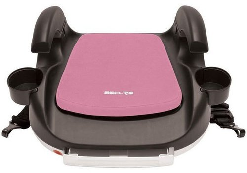 Harmony Harmony Secure RPM Deluxe Booster Car Seat - Black-Pink