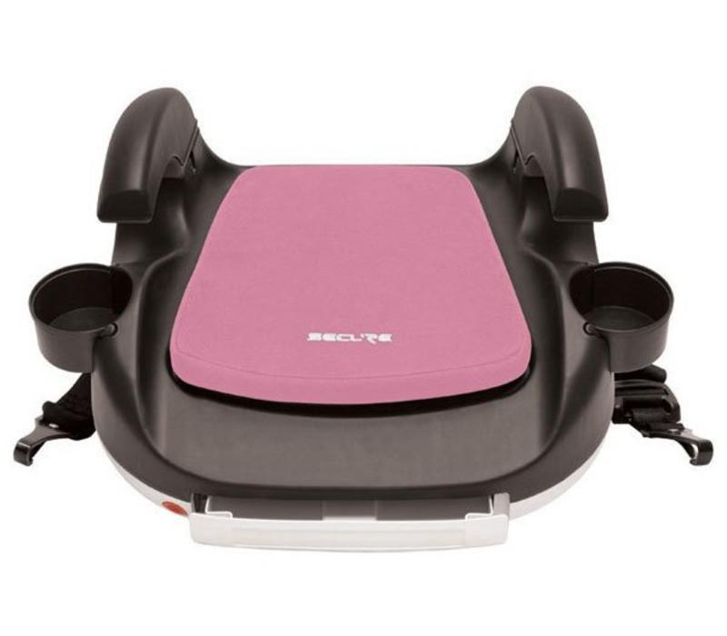 Harmony Secure RPM Deluxe Booster Car Seat - Black-Pink