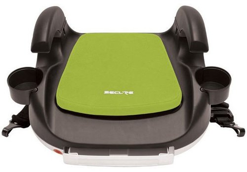 Harmony Harmony Secure RPM Deluxe Booster Car Seat - Black-Lime Green