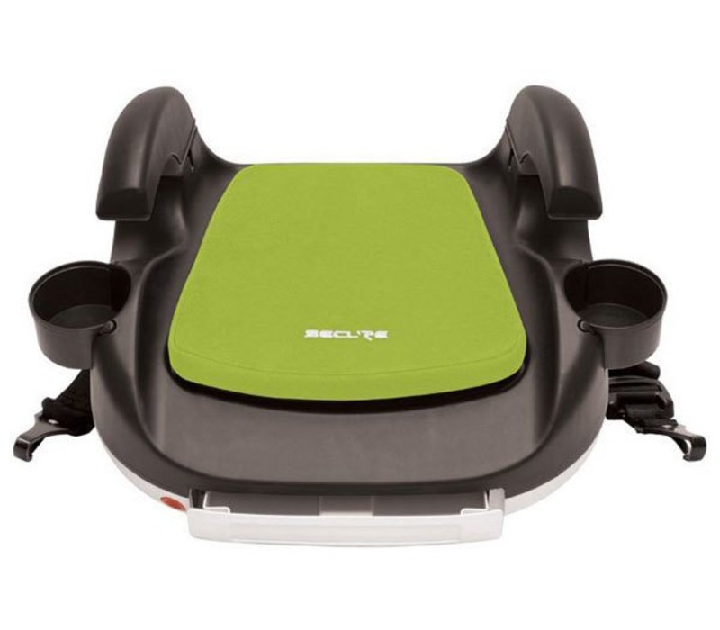 Harmony Secure RPM Deluxe Booster Car Seat - Black-Lime Green