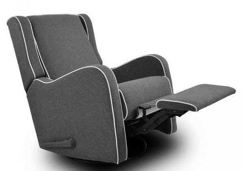 Kidiway Kidiway Alice Rocking Chair In Dark Charcoal