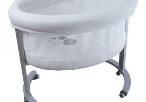 Micuna Micuna Smart Fresh Bassinet In Metal-White