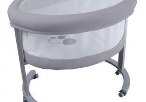 Micuna Micuna Smart Fresh Bassinet In Metal-Grey