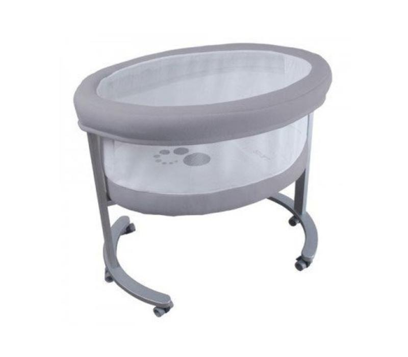 Micuna Smart Fresh Bassinet In Metal-Grey