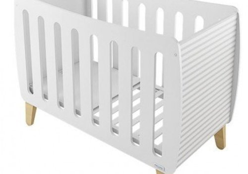 Micuna Micuna Harmony Crib In White-Lines