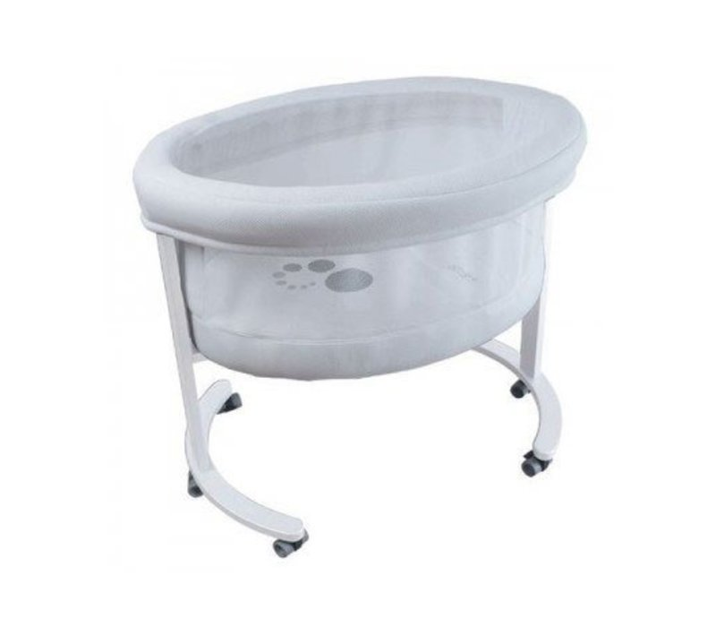 Micuna Smart Fresh Bassinet In White-White